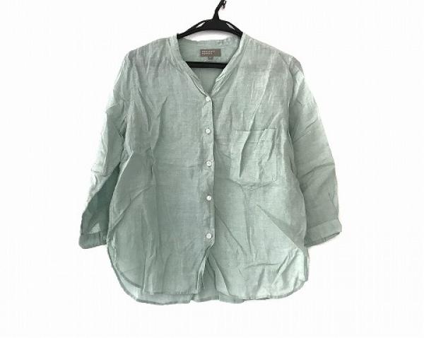 MHL.(マーガレットハウエル) 七分袖シャツブラウス サイズ2 M レディース美品  麻