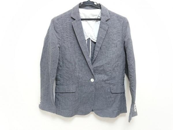 STRASBURGO(ストラスブルゴ) ジャケット サイズ40 M レディース 黒×白