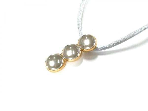 LALIQUE(ラリック) ネックレス新品同様  金属素材×ガラス クリア×ゴールド