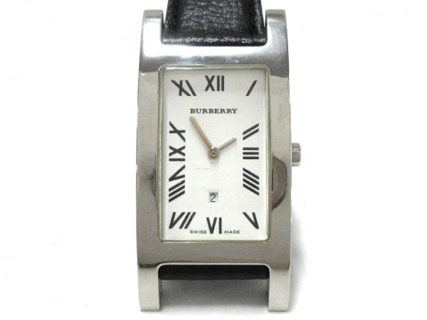 Burberry(バーバリー) 腕時計 14000G レディース 社外ベルト 白