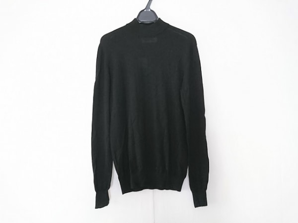 ENFOLD(エンフォルド) 長袖セーター サイズ38 M レディース 黒 ハイネック