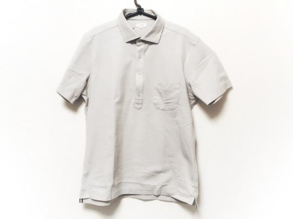 マッキントッシュフィロソフィー 半袖ポロシャツ サイズ42 L メンズ ライトブルー