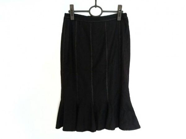 ANDREWGN(アンドリューゲン) スカート サイズS レディース美品  黒