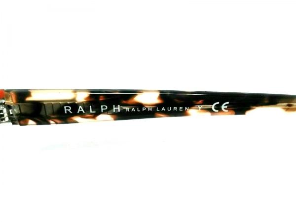 ラルフローレン サングラス美品  RA4101D ダークブラウン×シルバー×マルチ