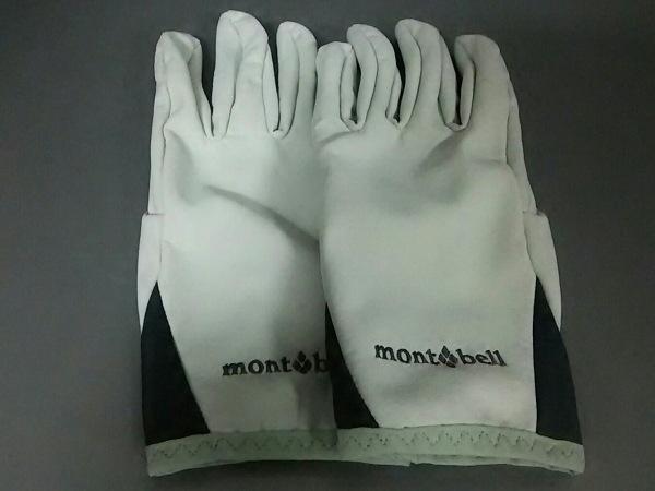 mont-bell(モンベル) 手袋 L レディース美品  ライトグレー×ダークグレー