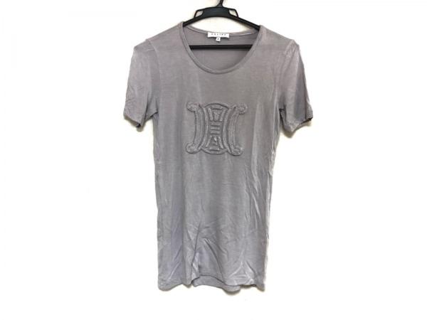 CELINE(セリーヌ) 半袖Tシャツ サイズS レディース美品  マカダム パープル