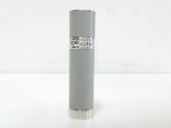 Dior Parfums(ディオールパフューム) 小物美品  グレー×シルバー TRAVEL SPRAY 3ml
