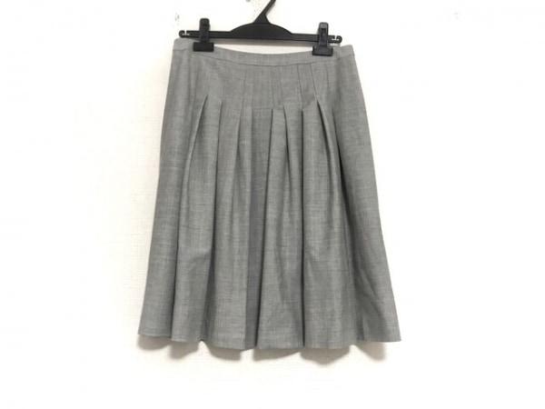 theory luxe(セオリーリュクス) スカート サイズ40 M レディース美品  ライトグレー