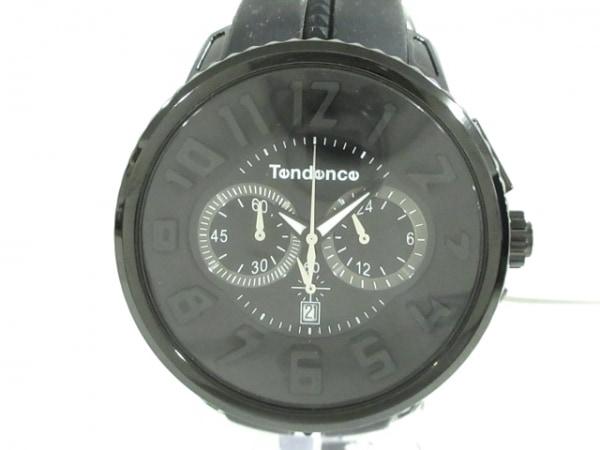 TENDENCE(テンデンス) 腕時計美品  S04P メンズ 黒