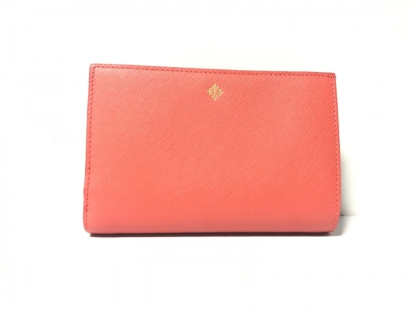 PATEK PHILIPPE(パテックフィリップ) 2つ折り財布美品  オレンジ レザー