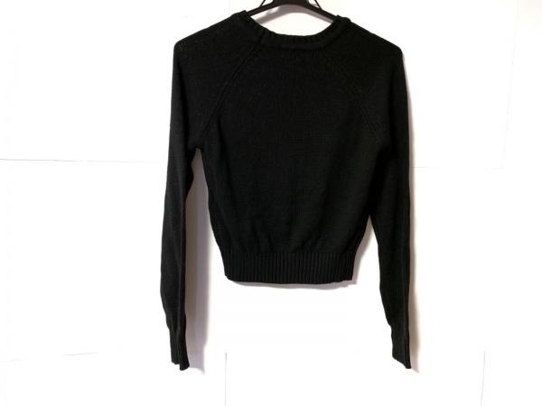 PAMEO POSE(パメオポーズ) 長袖セーター サイズF レディース 黒×白×グレー