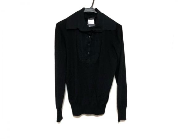 CHANEL(シャネル) 長袖セーター サイズ44 L レディース美品  黒