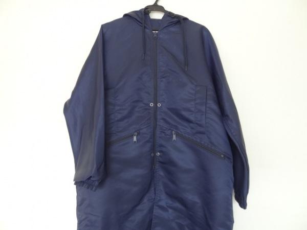 SCYE(サイ) コート サイズ36 S レディース ネイビー 裾丈調節可/春・秋物