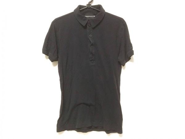 EMPORIOARMANI(エンポリオアルマーニ) 半袖ポロシャツ サイズL メンズ ダークネイビー