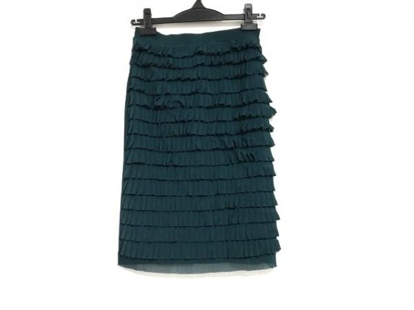 ヴィヴィアンタム スカート サイズ0 XS レディース美品  ダークグリーン