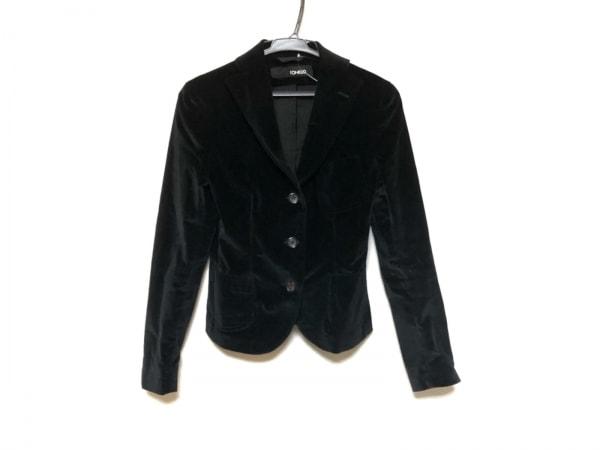TONELLO(トネッロ) ジャケット レディース美品  黒 ベロア