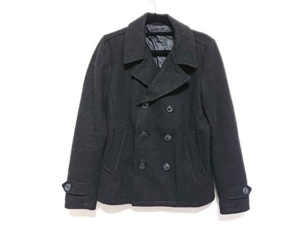 FUGA(フーガ) Pコート サイズ44 L レディース美品  黒