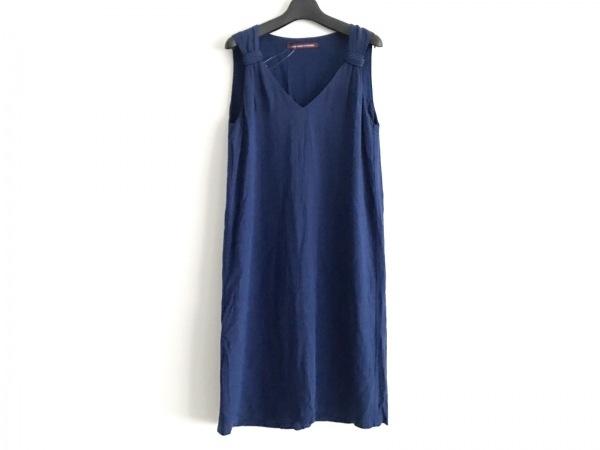 コントワーデコトニエ ワンピース サイズ7 S レディース美品  ブルー