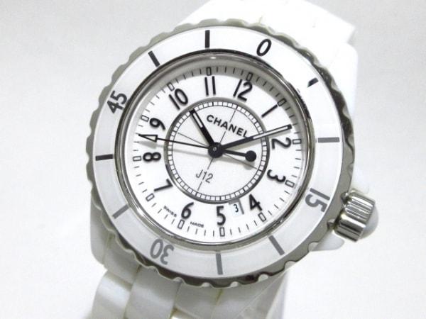 the best attitude 6cda0 d9a83 CHANEL(シャネル) 腕時計 J12 H0968 レディース 33mm/ホワイトセラミック/旧型 白