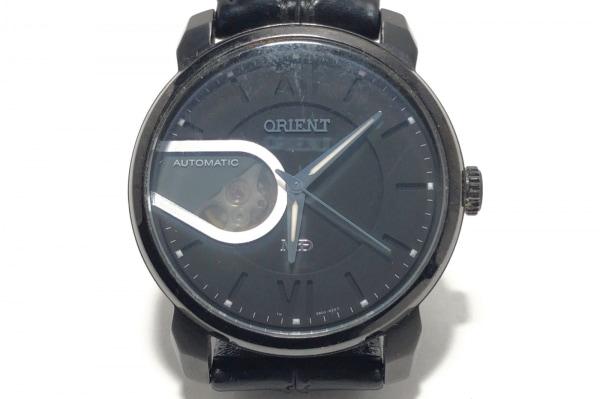 ORIENT(オリエント) 腕時計 ModeID DB03-E0 メンズ 革ベルト 黒