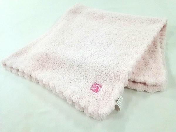 KASHWERE(カシウエア) ブランケット美品  ピンク カシウェアーマイクロファイバー