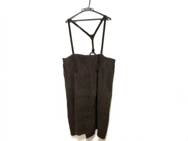 GASA(ガーサ) ロングスカート レディース美品  ダークブラウン