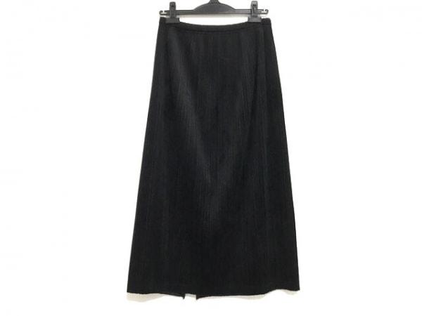 PLEATS PLEASE(プリーツプリーズ) ロングスカート サイズ2 M レディース美品  黒