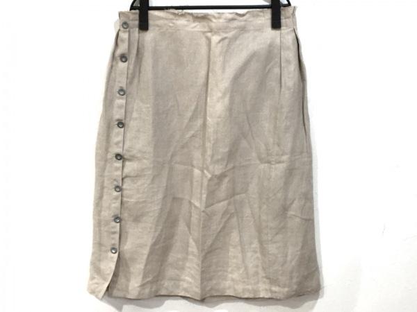 MARC LE BIHAN(マークルビアン) スカート サイズ1 S レディース ベージュ