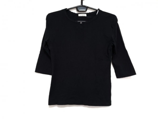 Lois CRAYON(ロイスクレヨン) 七分袖カットソー サイズM レディース新品同様  黒