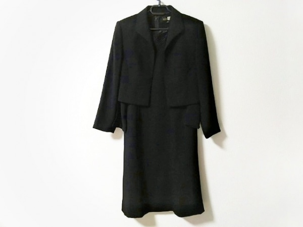 SOIR BENIR(ソワールベニール) ワンピーススーツ サイズ9 M レディース美品  黒