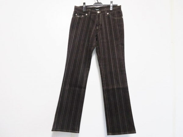バーバリーブラックレーベル パンツ サイズ79 メンズ ストライプ