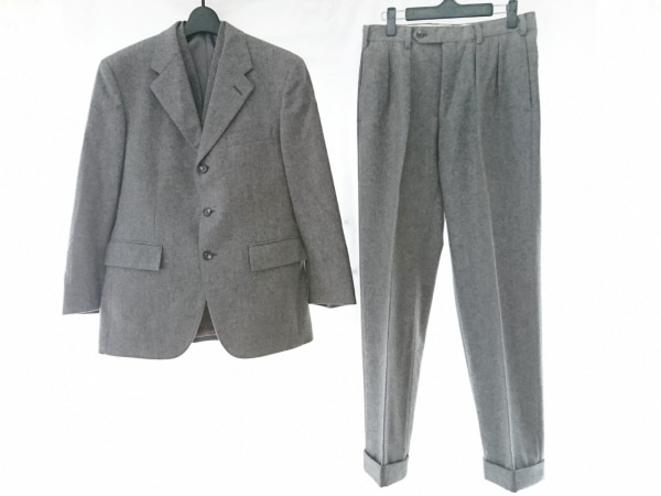 KENT&CURWEN(ケント&カーウェン) シングルスーツ メンズ グレー 3点セット