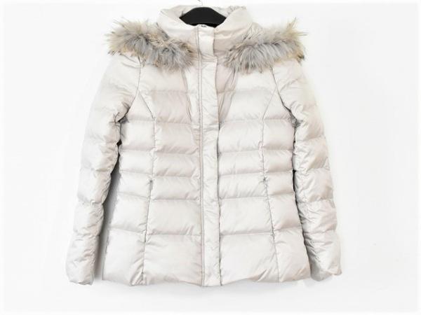 INDIVI(インディビ) ダウンジャケット サイズ3 L レディース美品  ライトグレー