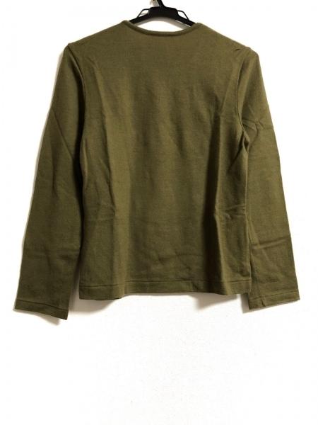 INGEBORG(インゲボルグ) 長袖セーター サイズM レディース ダークグリーン 刺繍