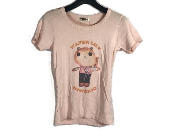ヒステリックグラマー 半袖Tシャツ サイズF レディース ピンク×マルチ