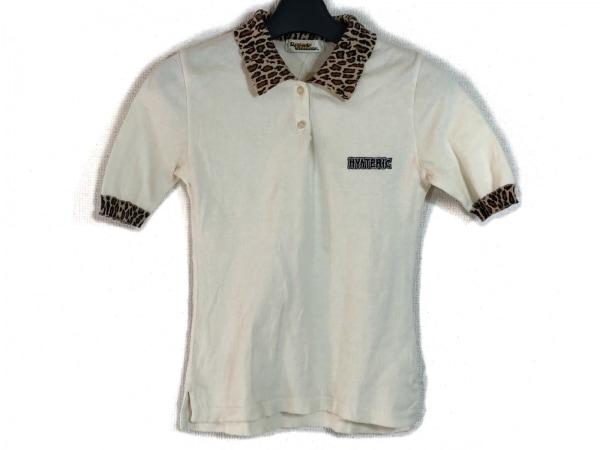 HYSTERIC GLAMOUR(ヒステリックグラマー) 半袖ポロシャツ サイズF レディース 豹柄