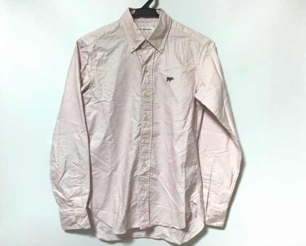 SCYE(サイ) 長袖シャツ サイズ36 S メンズ美品  ピンク