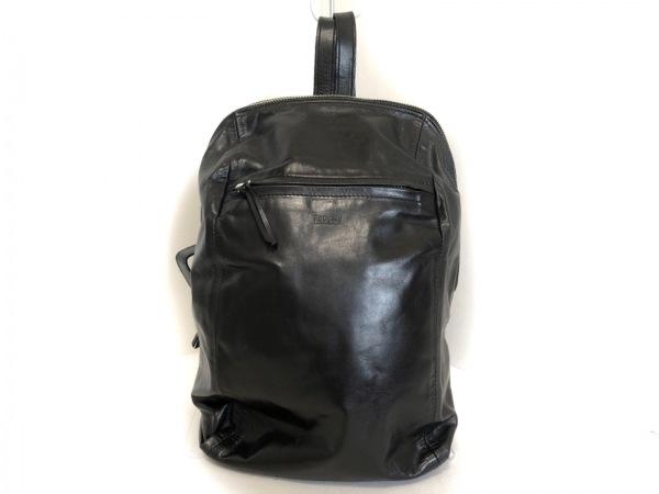 m0851(エムゼロエイトファイブワン) リュックサック 黒 レザー
