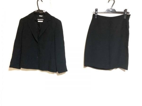 ピアノフォルテマックスマーラ スカートスーツ サイズ38 M レディース美品  黒