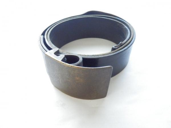 アンドゥムルメステール ベルト M ダークブラウン×ゴールド レザー×金属素材