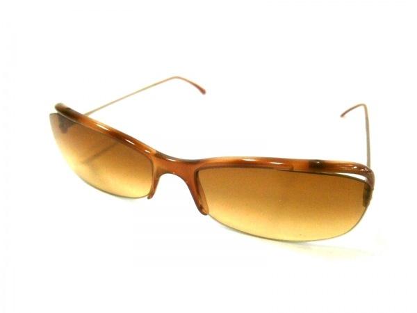PRADA(プラダ) サングラス SPR13C ライトブラウン×ゴールド プラスチック×金属素材