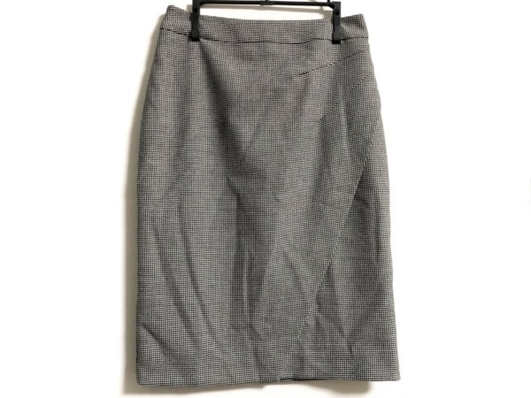 L.K.Bennett(エルケーベネット) スカート サイズ36 S レディース ライトグレー×黒