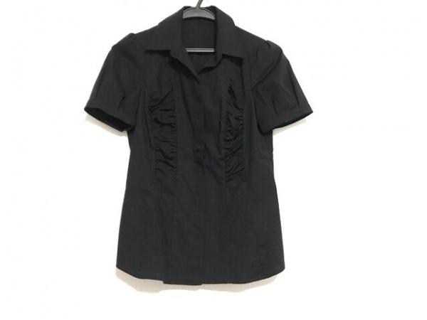 ANAYI(アナイ) 半袖シャツブラウス サイズ38 M レディース美品  黒
