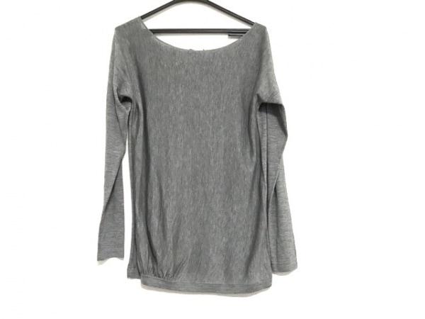 theory(セオリー) 長袖セーター サイズ2 S レディース美品  グレー