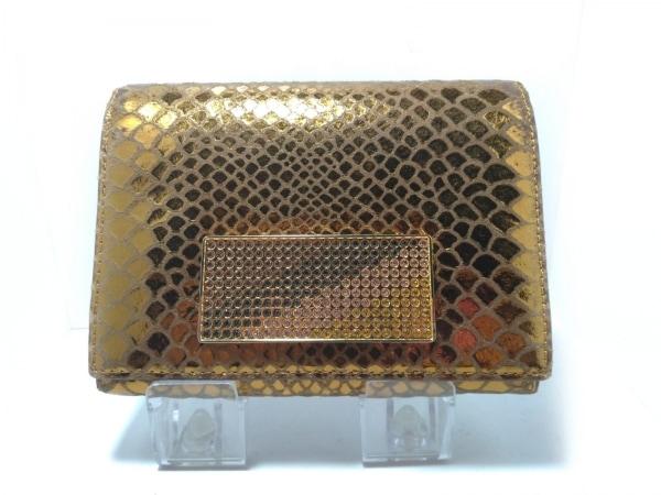 ASH&DIAMONDS(アッシュ&ダイヤモンド) 2つ折り財布 ブラウン レザー