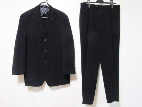 CERRUTI 1881(セルッティ1881) シングルスーツ サイズ44 L メンズ 黒 イニシャル刻印