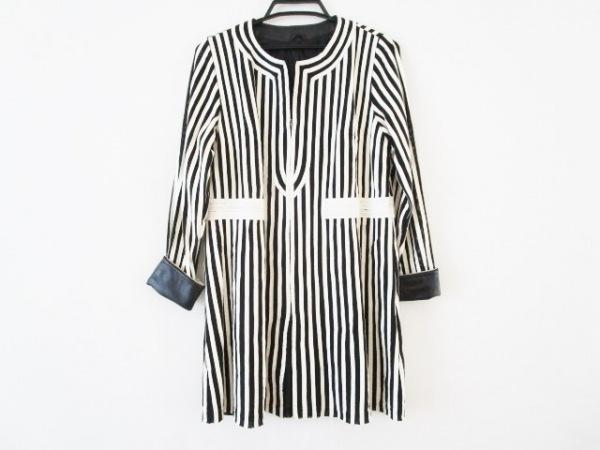 PARTINA(パルティーナ) コート サイズ9 M レディース 黒×白