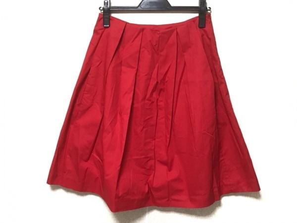 SOFIE D'HOORE(ソフィードール) スカート サイズ36 S レディース美品  レッド