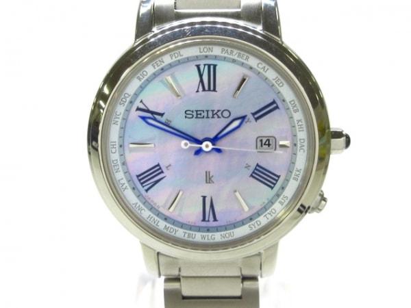 SEIKO(セイコー) 腕時計美品  1B25-0AW0 レディース ブルーピンク