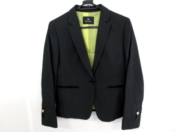 PaulSmith(ポールスミス) ジャケット サイズ38 L レディース美品  ネイビー×グレー